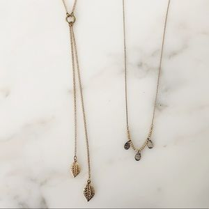 Jewelry - Lot of 2 necklaces